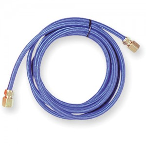 "Braided Rubber Air Hose with 1/8"" BSP Ends"