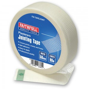 Faithfull Drywall Mesh Jointing Tape