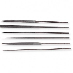 Genuine Swiss 6 Piece Needle File Set
