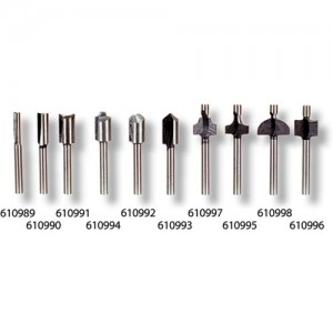 Miniature HSS Router Bits