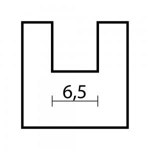 Proxxon Straight Router Bit 6.5mm dia