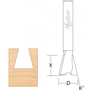 Axcaliber Dovetail Router Cutter