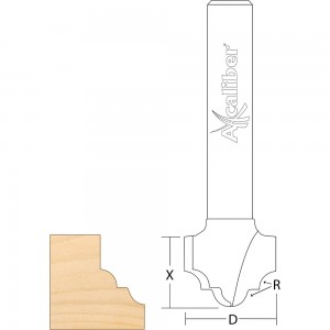 Axcaliber Classical Panel Router Cutter