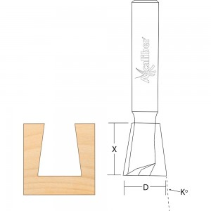 Axcaliber Dovetail Cutters for Stair Jigs