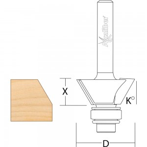 Axcaliber Bevel Trim Cutter