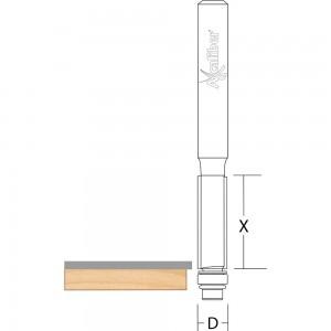 Axcaliber Flush Trim Cutters Bottom Bearing