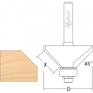 Axcaliber Bearing Guided Chamfer Cutters