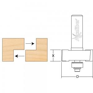 Axcaliber Rebate Cutter Set