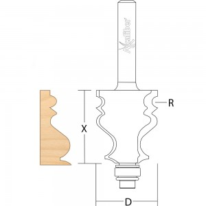 Axcaliber Traditional Moulding Cutter