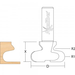 Axcaliber Drawer Pull Cutter 2