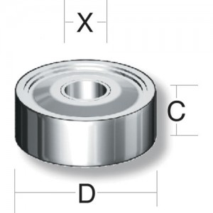 Axcaliber Router Cutter Bearings