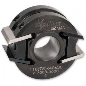 Axcaliber Euro Cutter Head