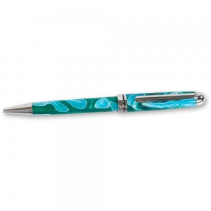 Craftprokits  Chrome Plated European Style Twist Pen Kit