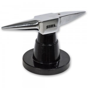 Miniature Anvil with Stand