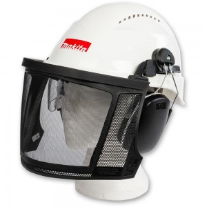 Makita Chainsaw Head Protection, Helmet, Visor & Muffs