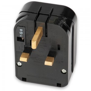 Euro Schuko Plug to UK Plug Adaptor