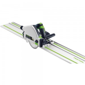 Festool TS 55R EBQ-Plus-FS Plunge Saw & 1,400mm Guide Rail