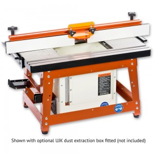 UJK Compact Router Table with Cast Iron Top