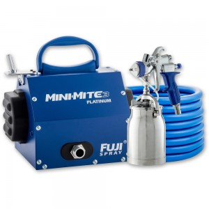 Fuji Mini-Mite 3 Platinum Turbine Unit & T70 Suction Spray Gun