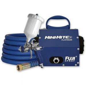 Fuji Mini-Mite 3 Platinum Turbine Unit & T75 Gravity Spray Gun