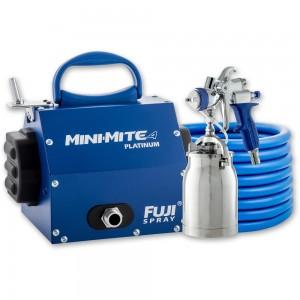 Fuji Mini-Mite 4 Turbine Platinum Unit & T70 Suction Spray Gun