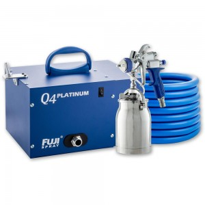 Fuji Q4 Platinum Turbine Unit c/w T70 or T75 Spray Gun - PACKAGE DEAL