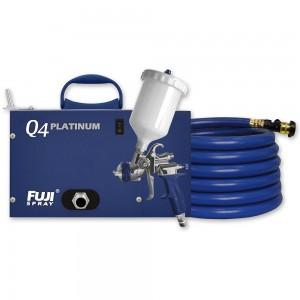 Fuji Q4 Platinum Turbine Unit & T75 Gravity Spray Gun