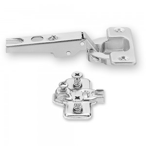 Blum Modul 100 deg. Hinge & Cruciform Mount Plate With Screws
