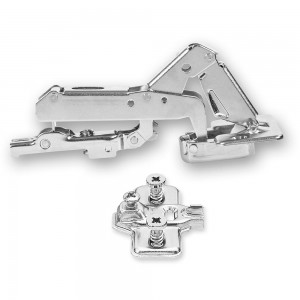 Blum Modul 170 deg.Hinge & Cruciform Mount Plate With Screws