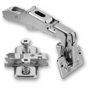 Blum CLIP-TOP 170 deg. Hinge & Cruciform Mount Plate With Screws