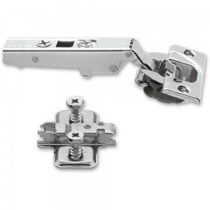 Blum CLIP-TOP 110 deg.Soft Close Hinge & Mount Plate With Screws