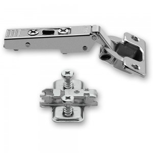 Blum CLIP-TOP 120 deg. Unsprung Hinge & Cruciform Mount Plate With Screws