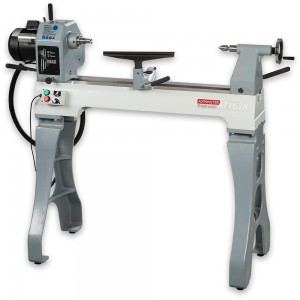 Axminster Trade Series AT1628VS Woodturning Lathe &  Floor Stand
