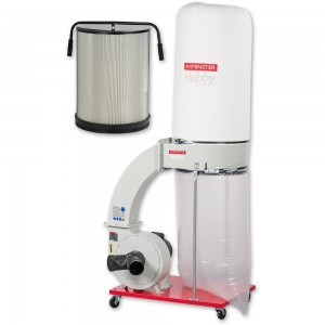 Axminster Hobby Series FM300BC Extractor & Filter Cartridge - PACKAGE DEAL