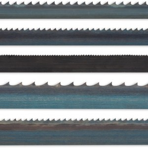 "Axcaliber Pack of 5 Bandsaw Blades - 1,400mm(55.1/8"")"