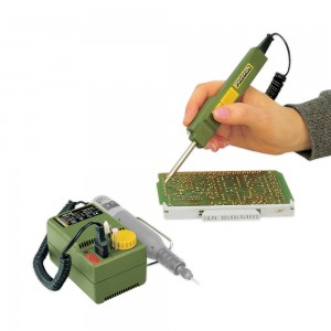 Proxxon EL 12 Soldering Iron & NG 2/E Mains Adaptor - PACKAGE DEAL