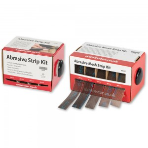 Axminster Abrasive Strip - PACKAGE DEAL