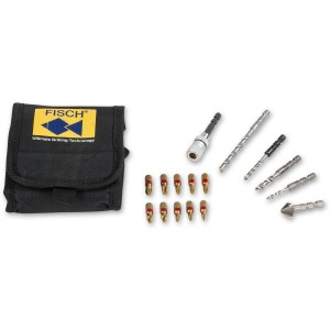 FISCH 16 Pce Quick Change Drill & Screwdriver Bits - PACKAGE DEAL