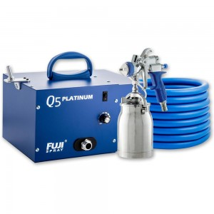 Fuji Q5 Platinum Turbine Unit & T70 Spray Gun