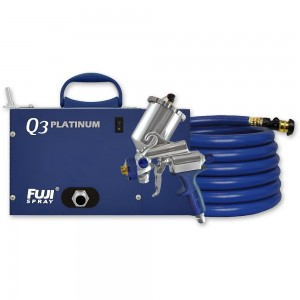 Fuji Q3 Platinum Turbine Unit c/w G-Xpc Spray Gun - PACKAGE DEAL