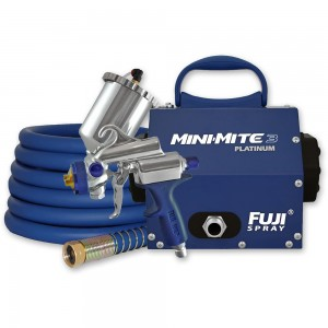 Fuji Mini-Mite 3 Platinum & G-Xpc Spray Gun