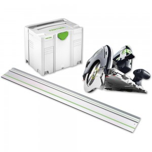 Festool HK55 EBQ-Plus-FS Circular Saw & 1,400mm Guide Rail - PACKAGE DEAL