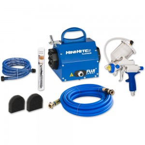 Fuji Mini-Mite 5 Turbine Unit & G-Xpc Gravity Spray Gun - PACKAGE DEAL