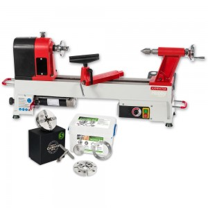Axminster AH-1218VS Woodturning Lathe & Woodturning Starter Package - PACKAGE DEAL