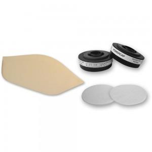 Axminster APF 10 Evolution® Respirator Spares Pack