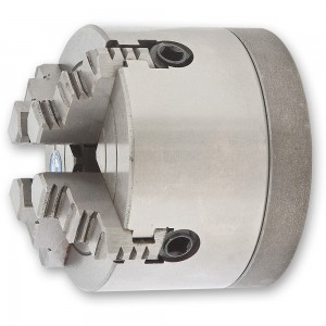 Axminster SIEG SC2 100mm 4 Jaw Ind Chuck & Backplate - PACKAGE DEAL