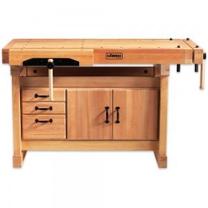 Sjobergs Elite 1500 Cabinetmaker's Bench & SM03 Storage Module