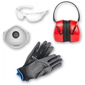 Personal Safety Kit - Masks, Specs, Gloves, Defenders