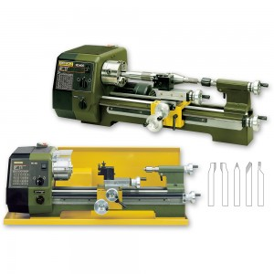 Proxxon PD 400 Precision Lathe - PACKAGE DEAL