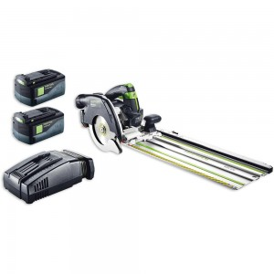 Festool HKC 55 Li 5.2 EB-SET FSK420 Saw & Guide Rail AIRSTREAM 18V